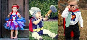 Fotos de disfraces de superhéroes para bebés