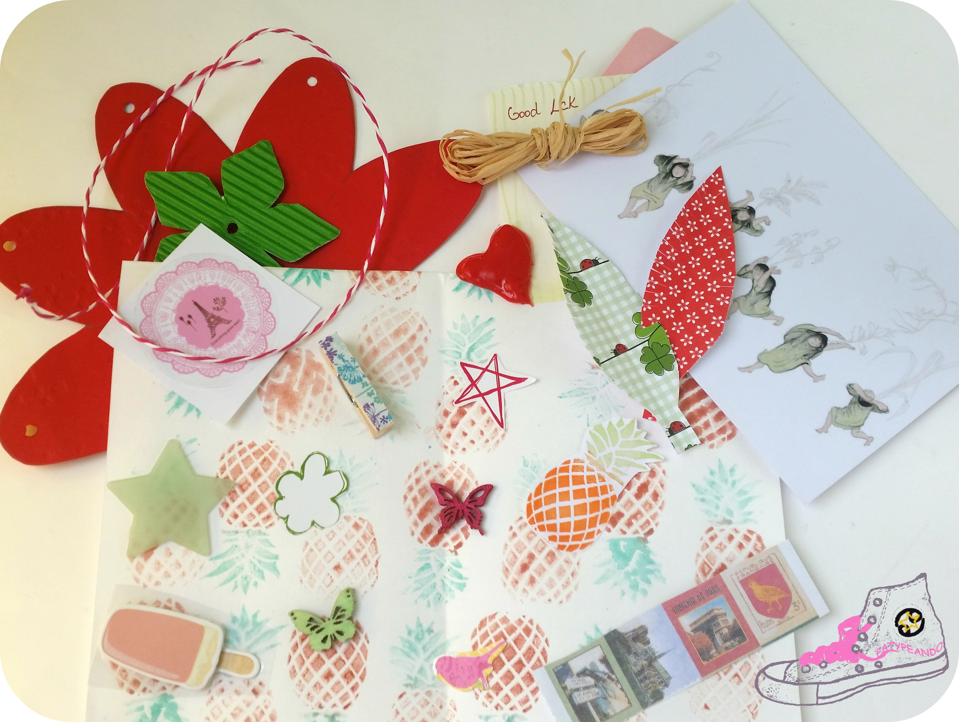 intercambio cartas bonitas