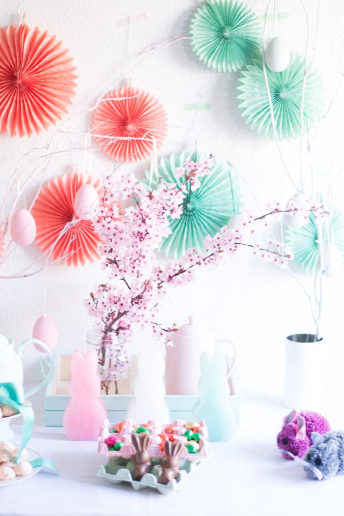 Ideas para una decoración mesa de pascua diy