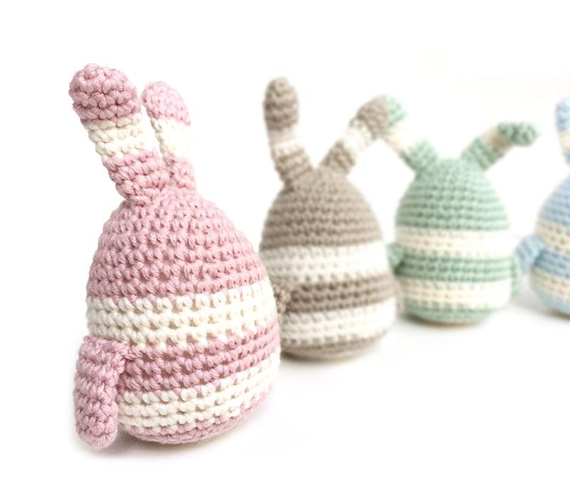 Conejito-huevo amigurumi – Patron y tutorial - Handbox Craft Lovers ...