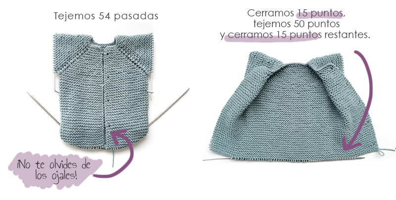 """Pelele de punto """"Musgo Baby"""" -Patrón y tutorial - Handbox Craft ..."""