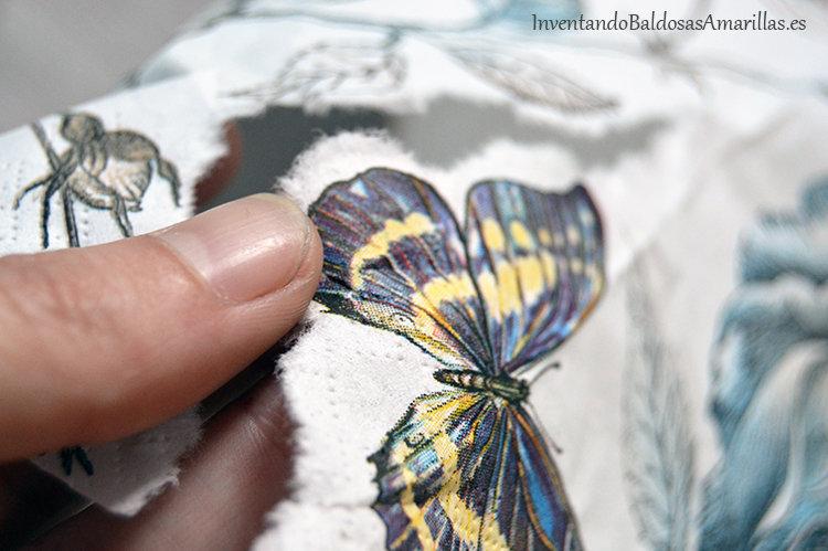 recortar servilleta
