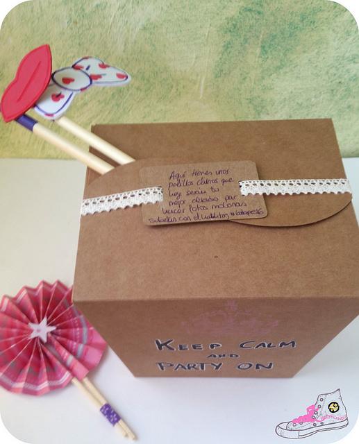 caja para regalos de boda