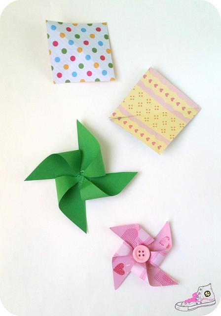 como hacer un molinillo de papel