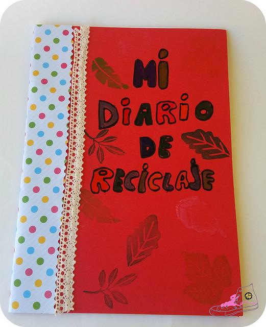 cuaderno de reciclaje