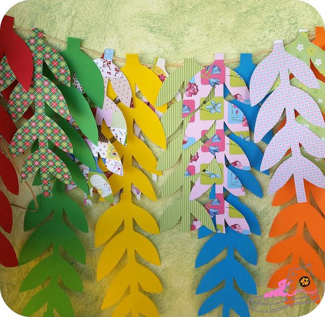 guirnalda ramas de papel 2