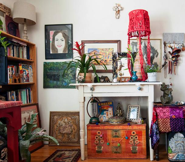 Baúl bohemio, decoración y buen gusto