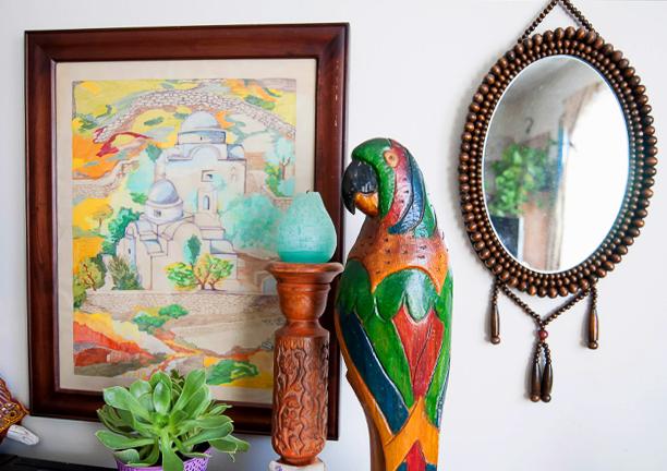 Detalles coloridos son exponente de la decoración bohemia