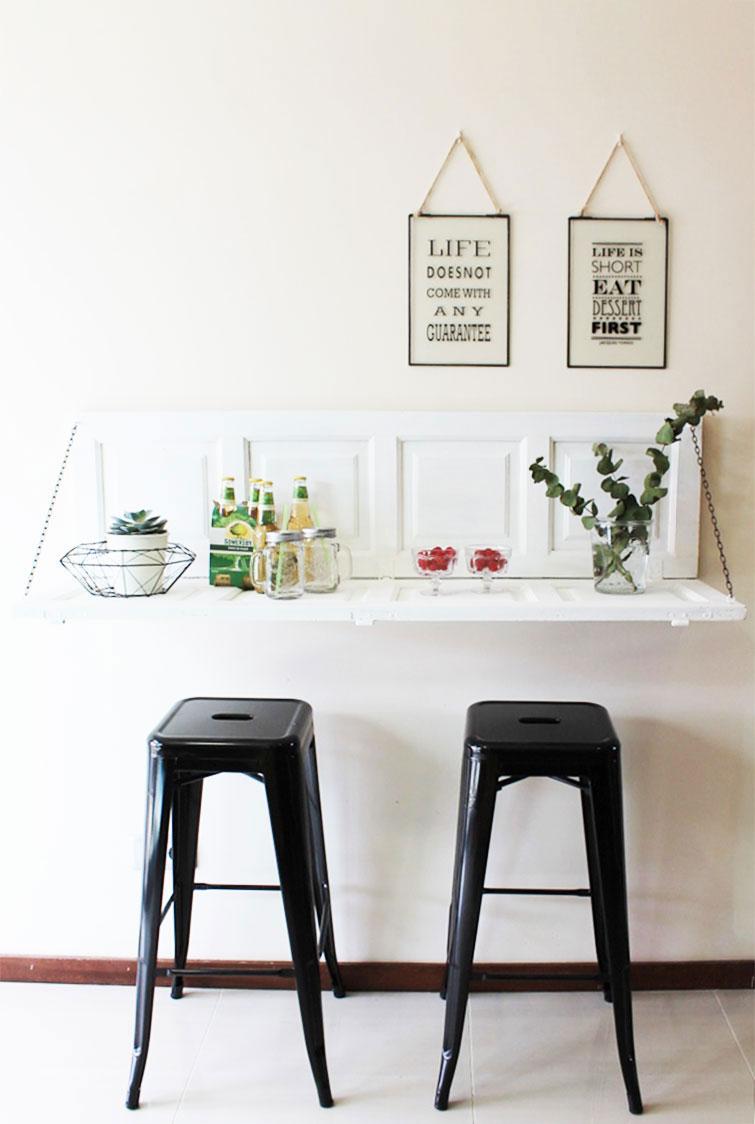Barra de cocina DIY: fácil, bonita y al mejor precio - Handbox Craft ...