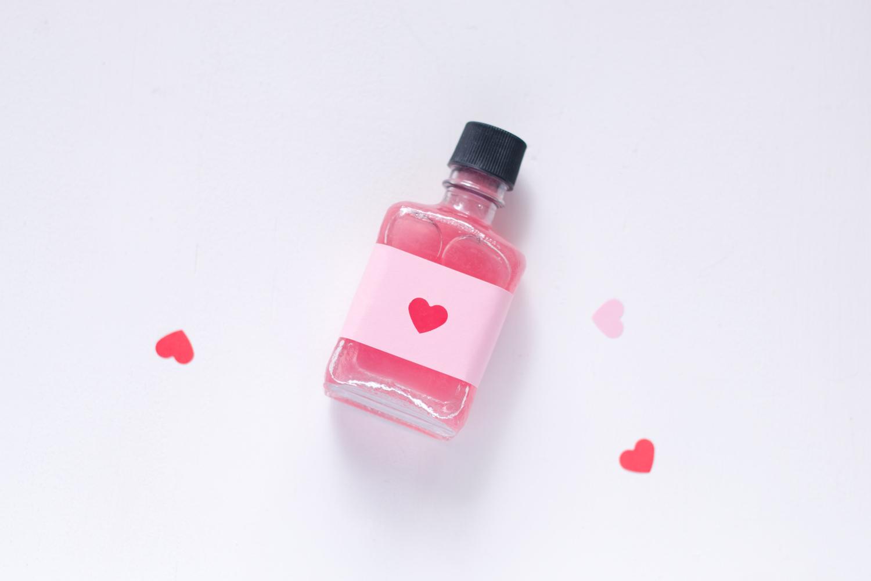 botella de elixir