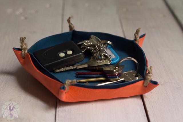 cestita para las llaves pangala