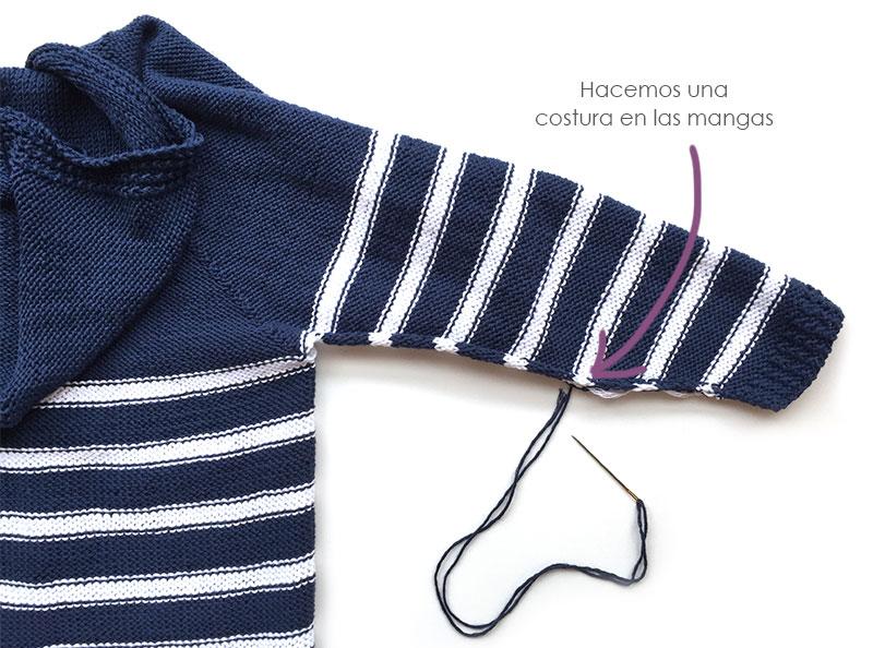 Chaqueta de punto marinera DIY – Tutorial y patrón - Handbox Craft ...