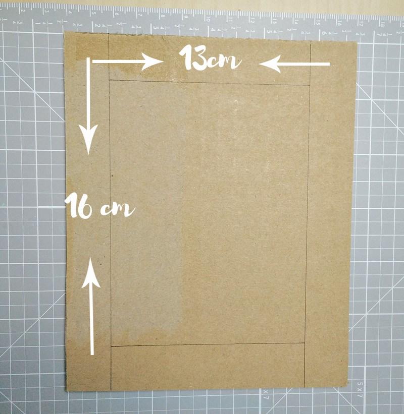 TUTORIAL | Marco DIY con mini integrado - Handbox Craft Lovers ...