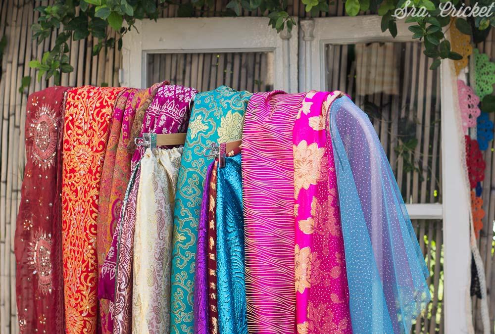 disfraz sari india para niñas