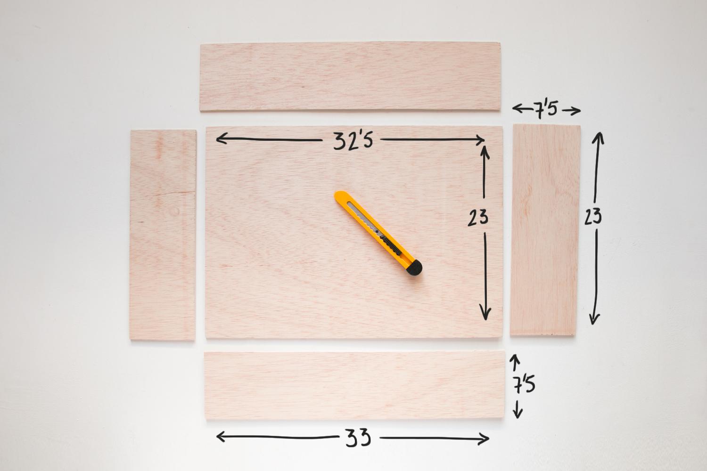 medidas madera de panel