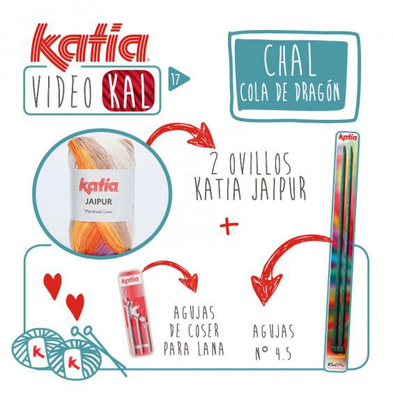Tejemos un chal Cola de Dragón con Katia? - Handbox Craft Lovers ...