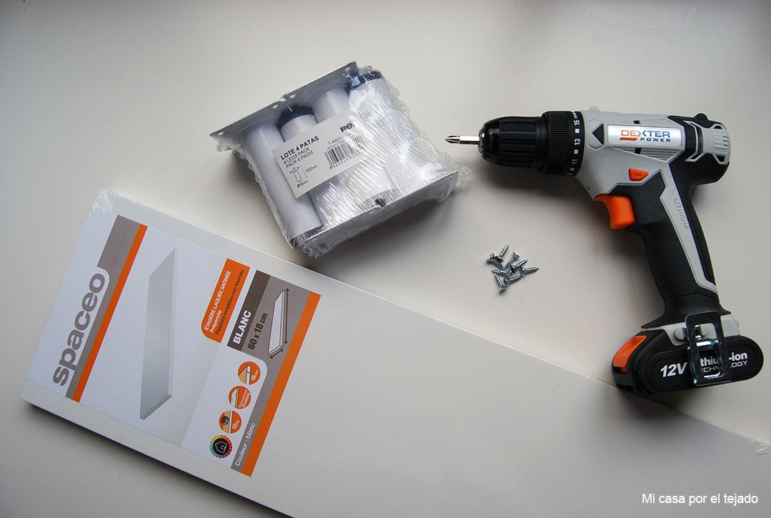 01-Elevador-de-monitor-DIY-materiales-balda-y-patas