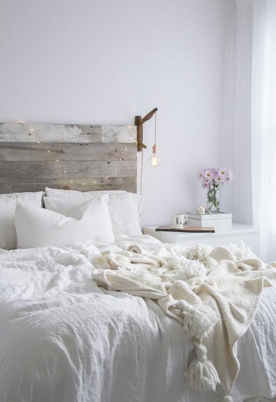 Renovar un dormitorio con presupuesto mini - ropa de cama en lino y algodón