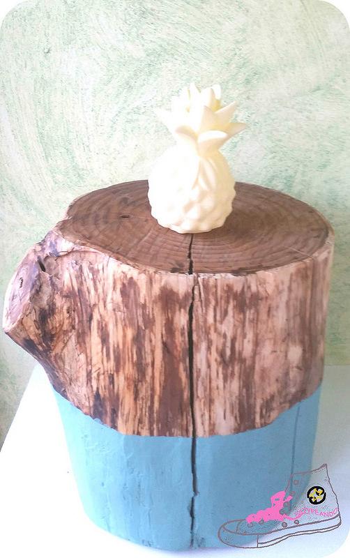 tronco decorativo para casa