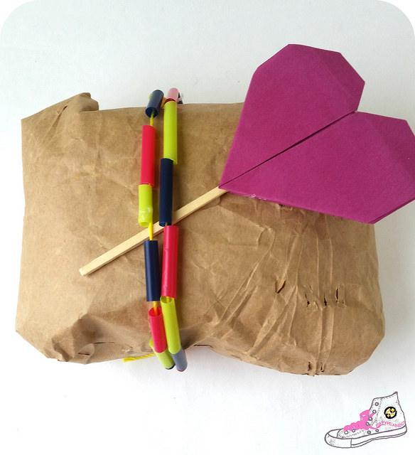 packaging con pajitas