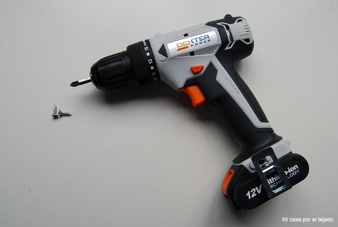 Atornillador-destornillador-dexter-power-12V-Leroy-Merlin