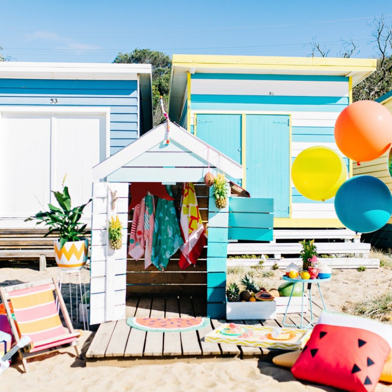 Inspiración decoración fiesta en la playa
