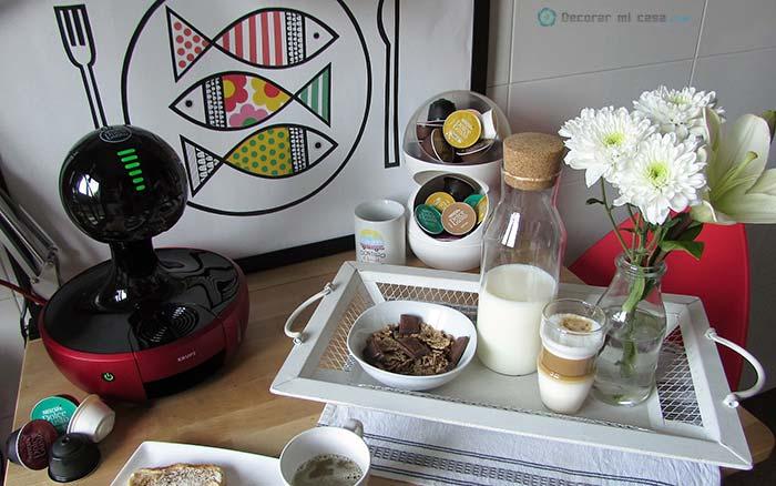 Una cafetera para decorar la cocina