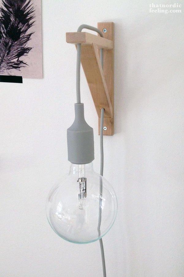 DIY para la iluminación del dormitorio