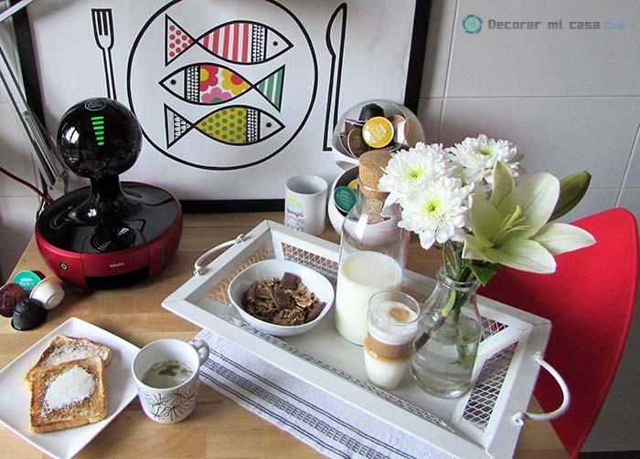 Desayuno completo del día