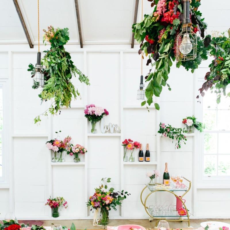 Detalles florales fiesta