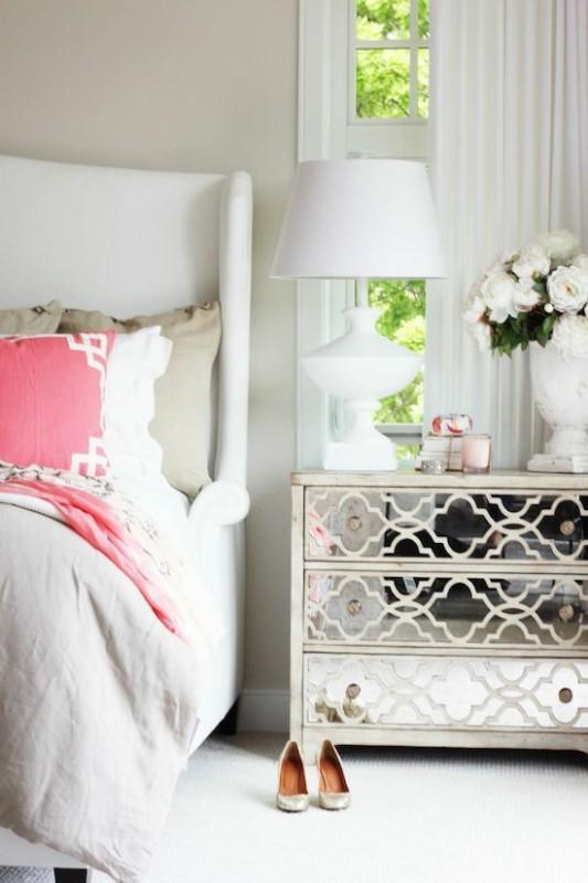 Renovar un dormitorio con presupuesto mini - cabecero tapizado