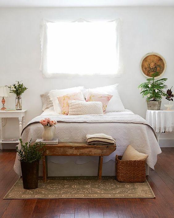 Renovar un dormitorio con presupuesto mini - detalles y complementos en madera