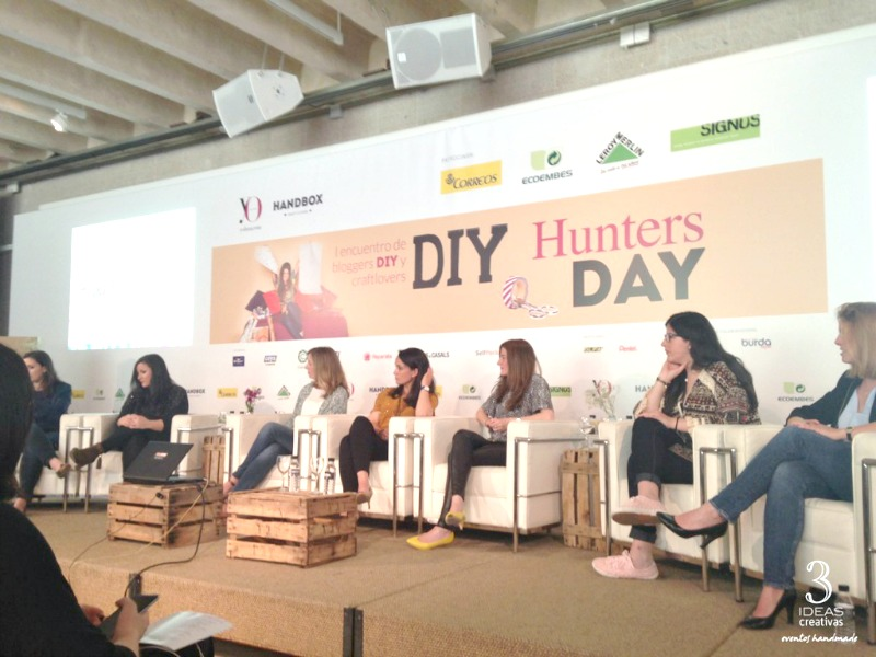DIY HUNTERS DAY MESA REDONDA BLOGUERAS