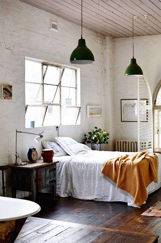 Renovar un dormitorio con presupuesto mini - complementos de estilo industrial