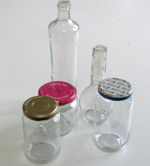 tintar frascos