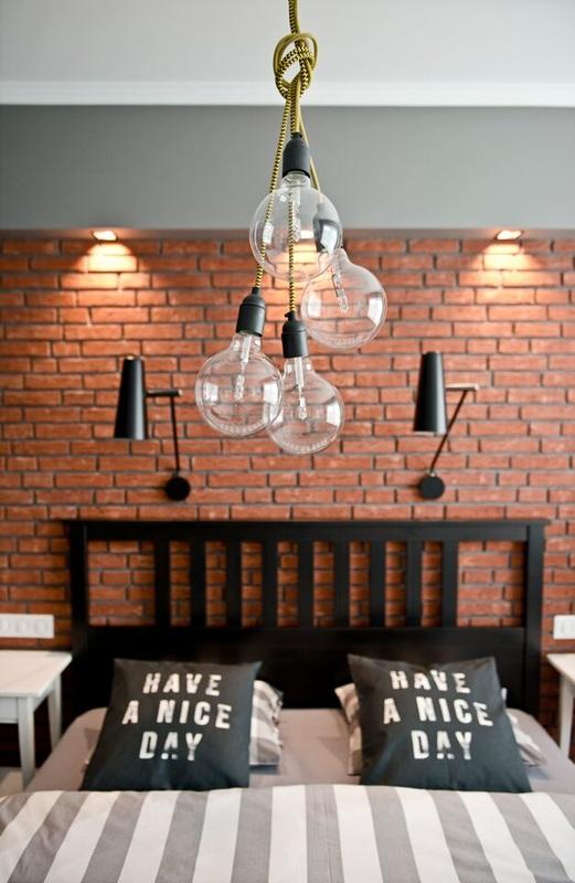 Apartamento con decoración retro y nórdica