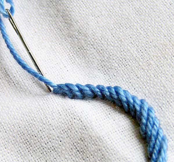 punto cuerda
