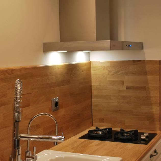 REFORMA INTEGRAL DE COCINA : Cocinas de estilo industrial de Bervic Interiorismo