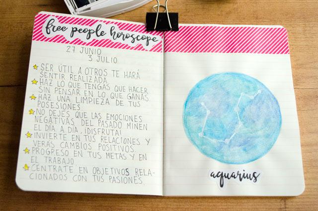 Páginas de mi art journal de verano