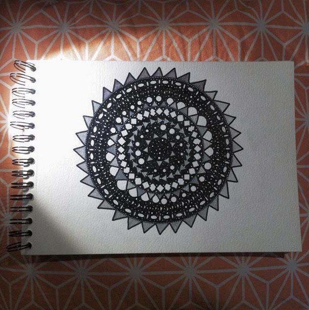 Aprende a dibujar mandalas con Blanca Guiral