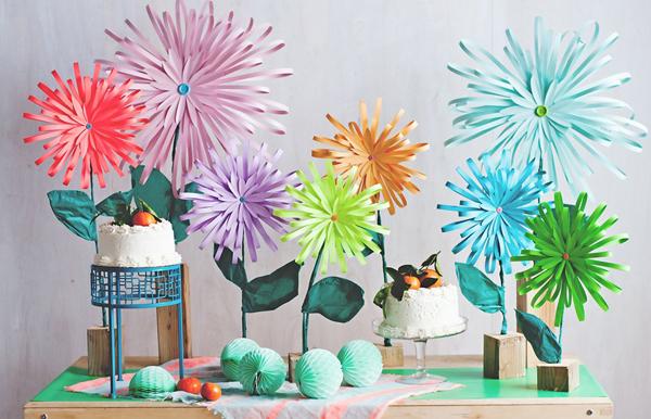 flores-gigantes-decoracion-mesa-diy