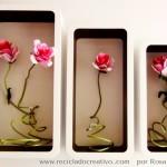 DIY Flores con hueveras de cartón