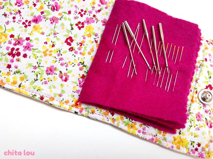 agujas para coser