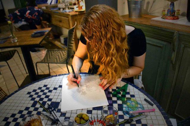 Aprende a dibujar mandalas con Blanca Guiral - Segunda parte