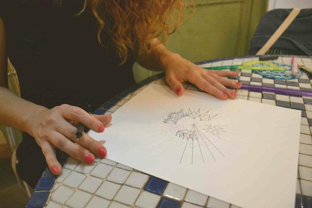 Cómo dibujar mandalas con Blanca Guiral