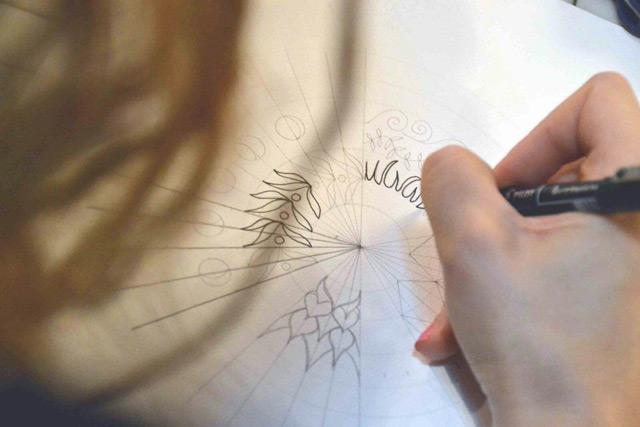 Dibuja tu propio mandala con este paso a paso