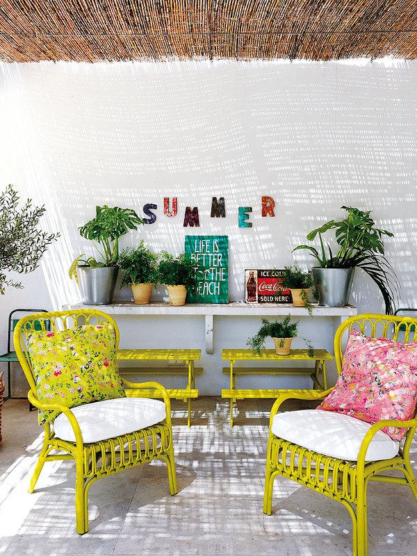 Colores para decorar en verano