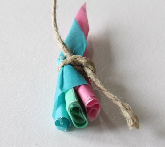 mini ramo flores