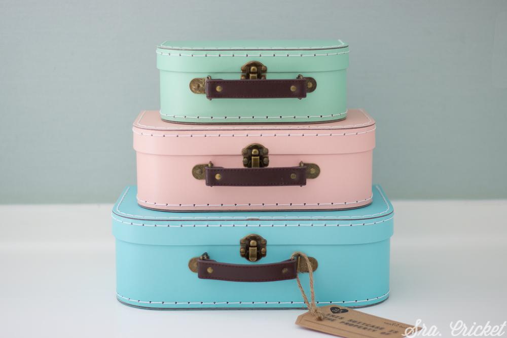 set maletas de cartón