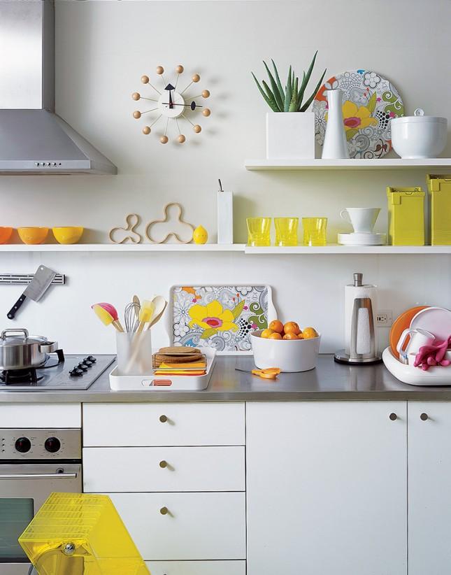Cocinas con amarillo